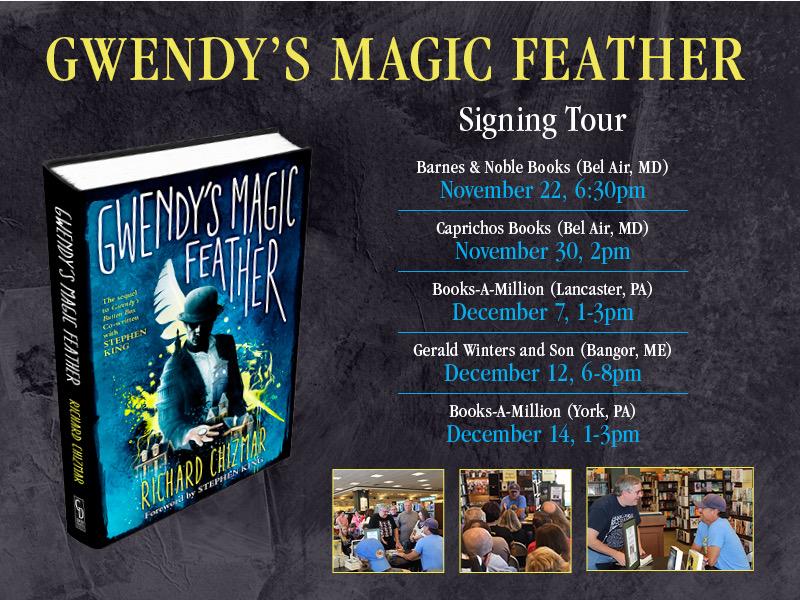 Gwendy tour dates