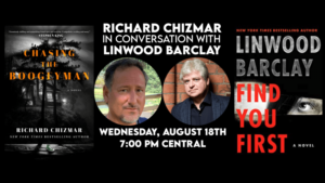 Richard Chizmar in conversation with Linwood Barclay - Virtual Event